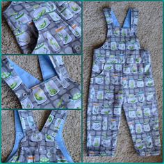 My earlier post about toddler dungarees with free pattern turned out to have been well-timed, as a week later episode 4 of The Great British Sewing Bee featured a challenge making kids dungarees. T…
