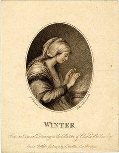 Winter, Bartolozzi, 1783