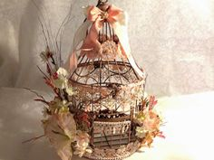 My Altered Birdcage by Becky Colvin