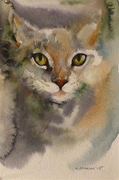 "Daily Paintworks - ""adopt108"" - Original Fine Art for Sale - © Katya Minkina"