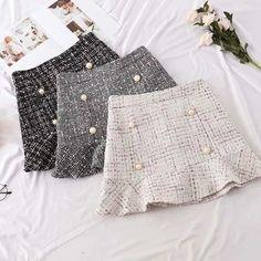 london — Mia tweed skirt skirt skirt skirt skirt outfit skirt for teens midi skirt Teen Fashion Outfits, Girly Outfits, Skirt Outfits, Fashion Women, Mode Purple, Short Skirts, Mini Skirts, Women's Skirts, Different Types Of Dresses