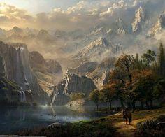 knight , lake , castle