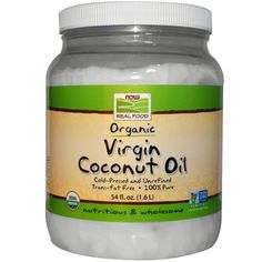 Now Foods, Organic Virgin Coconut Oil, 54 fl oz (1.6 l)