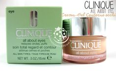 @clinique  - All About Eyes - Crema-Gel contorno occhi  #allabouteyes #eyecare #eyeroutine #puffs #darkcircles #clinique #skincare #skin #beauty #beautyblog #mybeautytools #LaCocci #review  http://mybeautytools.blogspot.com/2014/09/clinique-all-about-eyes-crema-gel.html