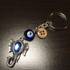 ******************************The Evil Eye Keychain