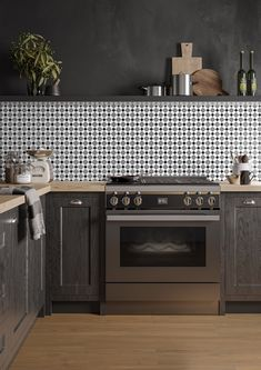 The Retromix Star design is one of our favourites, it combines a traditional pattern with a modern finish that's perfect for floors in kitchens and bathrooms. The monochrome mix of colours will complement any décor and the bold pattern can be used on walls to create a fun splashback or striking feature wall. Kitchen Tiles, Kitchen Cabinets, Outdoor Tiles, Splashback, Star Designs, Wall Tiles, Color Mixing, Monochrome, Floors