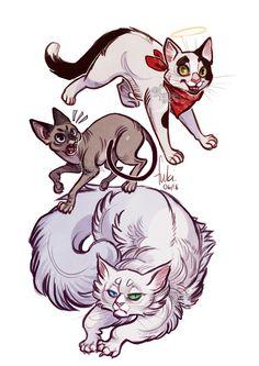 http://www.deviantart.com/art/cats-624708394