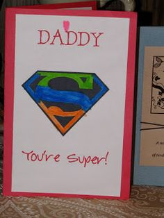 Father's Day Superman Card