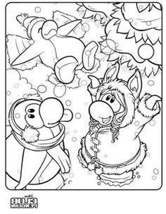 the most brilliant attractive club penguin coloring pages cadence http coloring