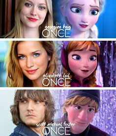 New cast members. i love everyone except elsa, elsa should be the girl who looks like elsa and cosplays as her.she should be on this board already. forgot her name