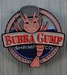 LA: Bubba Gump Shrimp at Universal Studio's CityWalk. Amazing prawns cooked every way imaginable.