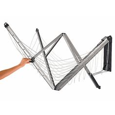 Ideal for smaller gardens or for maintaining a tidy area is now made possible with an extendable and foldable Clothes Line when you need it! The Brabantia WallFix Foldaway Wall Mount Clothes Line with Protective Clothes Dryer, Clothes Hanger, Howard Storage, Support Mural, Fabric Covered, Space Saving, Wall Mount, Cleaning Wipes, Diy