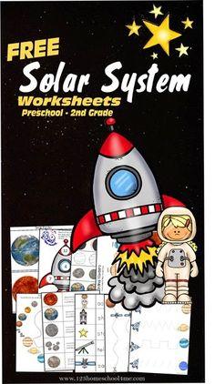 Soalr System Worksheets