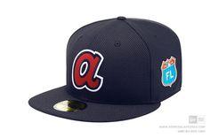 New Era 59Fifty FL 2016 Spring Training Atlanta Braves Fitted Baseball Cap MLB #NewEra #BaseballCap #AtlantaBraves