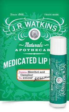 J.R. Watkins... The best lip balm ever!!