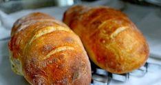 Sastojci: 675 g brašna 550 ml tople vode 7 g kvasca 2 kašičice soli 1 kašičica šećera Priprema: 1. U manju zdelicu staviti 125...