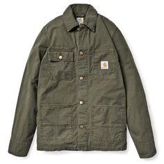 Carhartt WIP Digger Coat http://shop.carhartt-wip.com:80/us/men/jackets/I003102/digger-coat