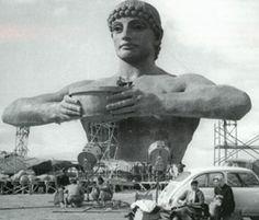 1960 - Rodaje de El coloso de Rodas. Estudios CEA.
