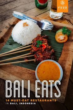 Bali Food Guide: 14 Must-Eat Restaurants in Bali, Indonesia There are many great restaurants in Bali, Indonesia. If you're looking for suggestions on where to eat in Seminyak and Ubud, then this guide can help. Ubud, Bali Travel Guide, Travel Tips, Asia Travel, Budget Travel, Bali Restaurant, Hotel Food, Florida, Best Places To Eat