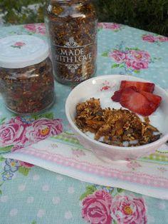 Maryjosecakes: Granola casera sin azúcar