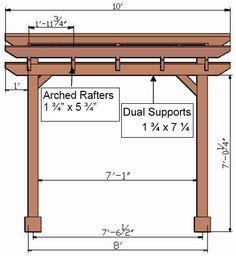 Pergola With Roof Plans Product Curved Pergola, Pergola Canopy, Deck With Pergola, Wooden Pergola, Outdoor Pergola, Backyard Pergola, Backyard Planters, Pergola Shade, Gazebo