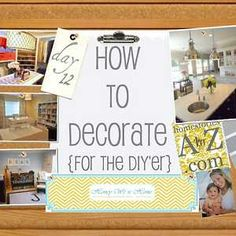 this diy decorate series is beyond inspirational  ♣