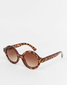 Monki Round Frame Sunglasses