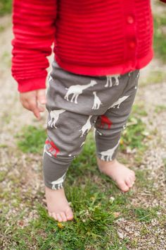 Organic baby leggings organic baby clothes Baby by lilybeangiggles