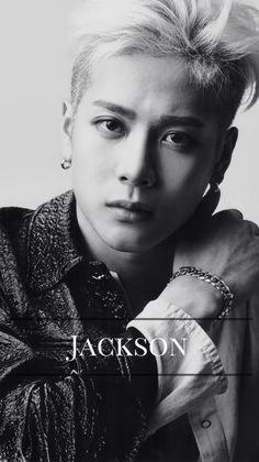 Download Wallpaper Jackson Wang Black And White Hd Cikimm Com