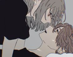 Anime Cupples, Anime Kiss, Fanarts Anime, Kawaii Anime, Anime Characters, Anime Love Couple, Cute Anime Couples, Romantic Anime Couples, Anime Couples Manga