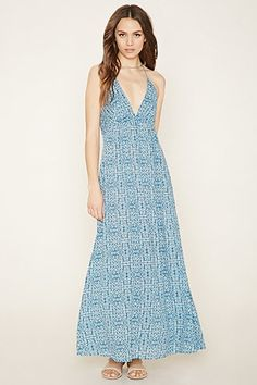 Low V Neck Maxi Dress from Forever 21 R159,00