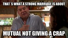 Murray Goldberg quote about Marriage. Click on the pic for more quotes from The Goldbergs.