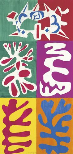Henri Matisse, Shapes of Things.