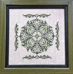 Three Shades of Green - Keslyns - House Of Stitches