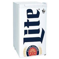 460777a98de8d4 Ft. Small Mini Compact Beer Miller Lite Fridge Refrigerator