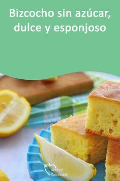 Diabetic Friendly Desserts, Sin Gluten, Health Diet, Deli, Cornbread, Sugar Free, Deserts, Healthy Recipes, Baking