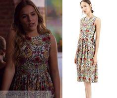 Nashville: Season 4 Episode 4 Maddie's Floral Printed Dress