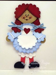 I have LOVED Raggedy Ann since I was a little girl. Still do to this day!