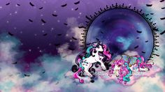 Commission: Phyrra and Phaedra Ponies by =nanecakes on deviantART