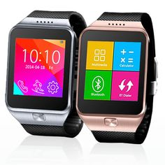 Indigi Smart Watch And Phone GSM Unlocked Bluetooth Sync SmartWatch For Android Galaxy Smart Phone Edge Note 4 iPhone 6 6 Silver ** You can get additional details at the image link. (This is an affiliate link) Watch For Iphone, Iphone 6, Bluetooth, Smart Watch Apple, Camera Watch, Best Smart Watches, Apple Support, Caller Id