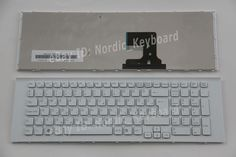 HU Billentyűzet Hungarian Keyboard for Sony VPC-EJ VPC-EJ2E1E PCG-91211M white