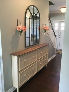 39 Ideas diy furniture bedroom ideas ana white for 2019 Home Remodeling Diy, Home Renovation, Ana White, White White, Hallway Decorating, Entryway Decor, Shoe Cabinet Entryway, Cabinet Decor, Narrow Cabinet Storage