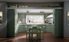 Le cucine in muratura più diffuse sono quelle classiche e country ...