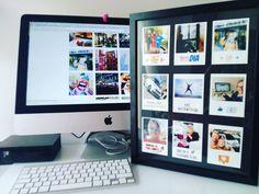 Tremenda ilusión me ha hecho este regalo de cumple de mis compis de Aena. Imprimiendo una selección de fotografías en mi perfil de Instagram han creado esto tannnn chulo. Momentos muy bien elegidos. Gracias @ejdengra @esther.asensio y Toñi. Sois