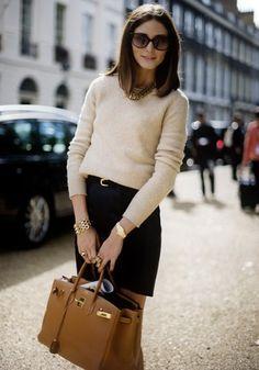 Olivia Palermo - Birkin Bag