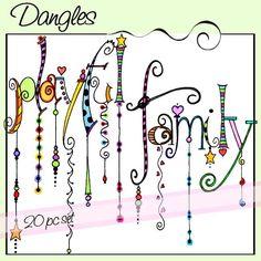 Playful & Family Dangles