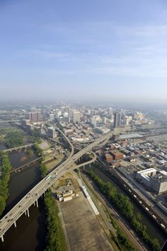 JAM Downtown Richmond skyline, I-95 Bridge I95 bridge