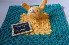 Snuggle Bunny Security Blanket // Bunny by SweetMatroyshkas