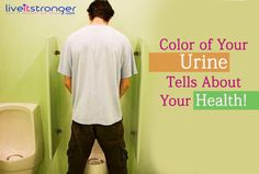 what does your #urine #color tells about your #health