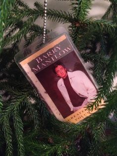 Barry Manilow Ornament by rockcycleonline on Etsy